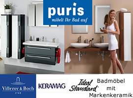 Puris Badm�bel Gesamtsortiment bei Dreamstyle